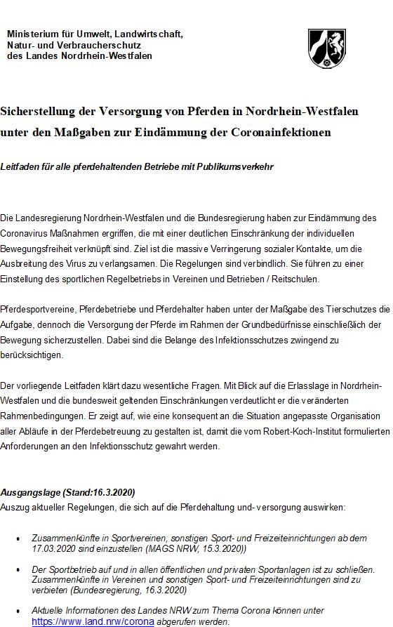 image Offizielle Vorgaben des Ministeriums. Allgemein Lehrgänge RG-Hof-Höherhaus